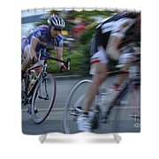 Criterium Bicycle Race 4 Shower Curtain