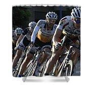 Criterium Bicycle Race 5 Shower Curtain