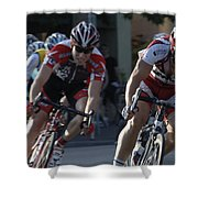 Criterium Bicycle Race 7 Shower Curtain