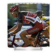 Criterium Bicycle Race1 Shower Curtain