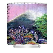 Croagh Patrick Shower Curtain