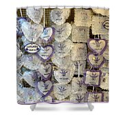 Croatian Lavender Shower Curtain