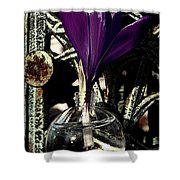 Crocus In A Bottle Number Two Shower Curtain