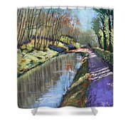 Cromford Canal Shower Curtain
