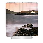 Cromwell Point Lighthouse, Valentia Shower Curtain
