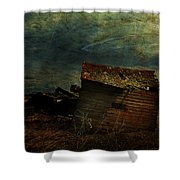 Crooked Breeze Revisited  Shower Curtain
