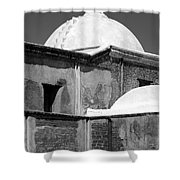 Cross At Tumacacori Shower Curtain