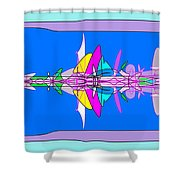 Cross Section Shower Curtain