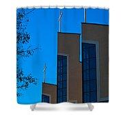 Crosses Of Livingway Church Shower Curtain