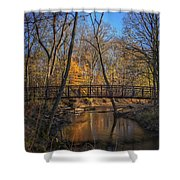 Crossing Deep River Shower Curtain