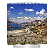 Crossing The Andes 2 Shower Curtain