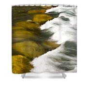 Crossing The Creek Shower Curtain