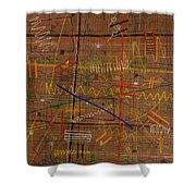 Crossroads Shower Curtain