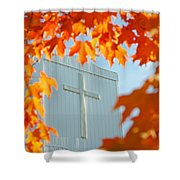 Crown Of Leaves Shower Curtain