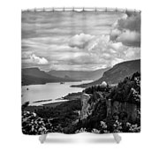 Crown Point Two Shower Curtain