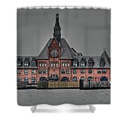 Crrnj Terminal Hdr Shower Curtain
