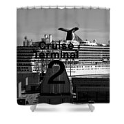 Cruise Terminal Two Shower Curtain