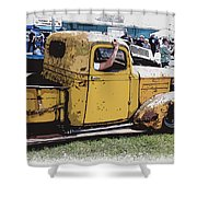Cruising The Old Chevy Shower Curtain by Steve McKinzie