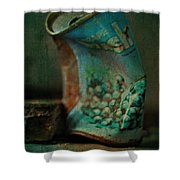 Crushed Grapes  Shower Curtain