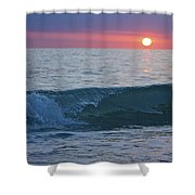 Crystal Blue Waters At Sunset In Treasure Island Florida 4 Shower Curtain