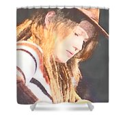 Crystal Bowersox Shower Curtain