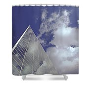 Crystal Cathedral 2 Shower Curtain