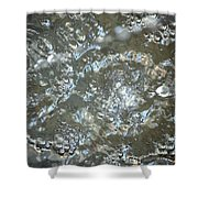 Crystal Clear Bubbles Shower Curtain