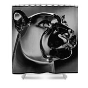 Crystal Cougar Shower Curtain