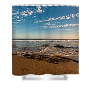 Crystal Cove At Sunset 2 Shower Curtain