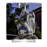 Crystal Lady Shower Curtain