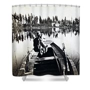Crystal Lake California - C 1865 Shower Curtain