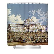 Crystal Palace New York Shower Curtain
