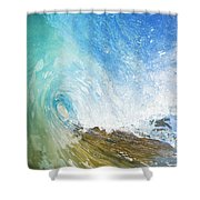 Crystal Wave Shower Curtain