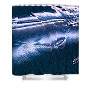 Crystalline Entity Panel 1 Shower Curtain