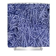Crystals 2 Shower Curtain