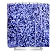 Crystals 3 Shower Curtain