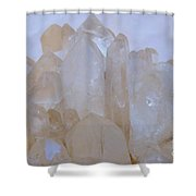 Crystals Au Natural Shower Curtain