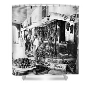 Cuba Fruit Vendor C1910 Shower Curtain