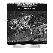 Cuban Missile Crisis, 1962 Shower Curtain