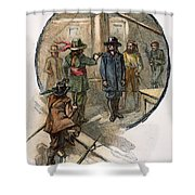 Culpepers Rebellion, 1677 Shower Curtain
