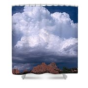 Cumulonimbus Cloud Shower Curtain by Science Source