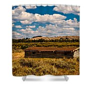 Cunningham Cabin II Shower Curtain
