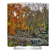 Cunningham Falls Viewing Platforms Shower Curtain