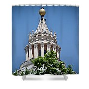 Cupola Atop St Peters Basilica Vatican City Italy Shower Curtain