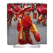 Curious Carnival Child Shower Curtain