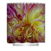 Curly Petals Shower Curtain