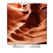 Curves In The Canyon Shower Curtain