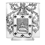 Cusco: Coat Of Arms Shower Curtain
