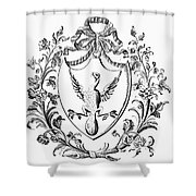 Custis: Coat Of Arms Shower Curtain