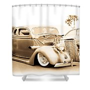 Custom 1936 Ford Shower Curtain